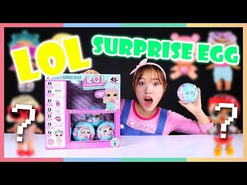 LOL公仔驚喜不斷開箱遊戲 | 凱利和玩具朋友們 | 凱利TV