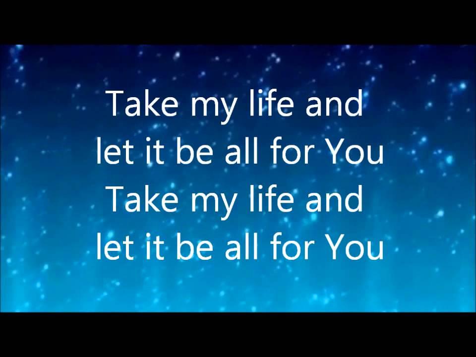 Lyric my god and i lyrics : Lift My Life Up by Unspoken with lyrics - YouTube