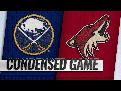 10/13/18 Condensed Game: Sabres @ Coyotes