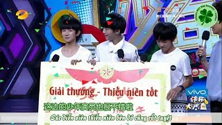 Vietsub Full Happy Camp 140520 TFBOYS Beijing Love Story