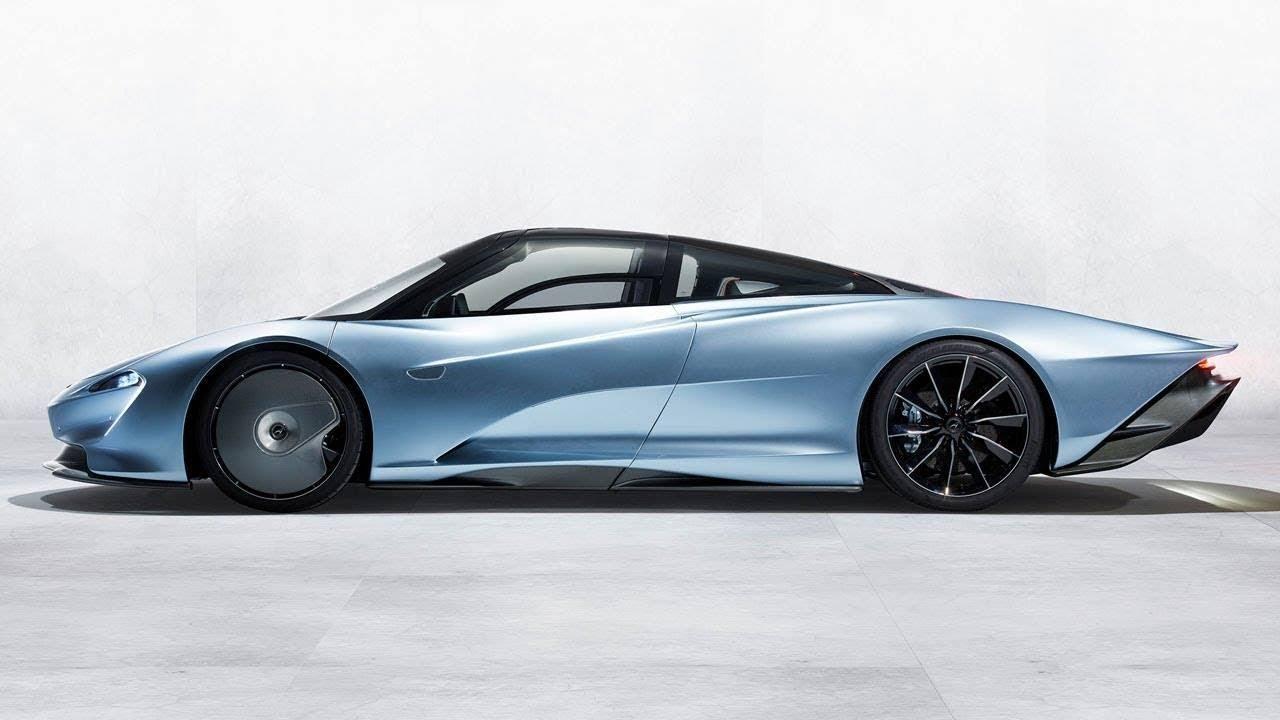 تجسيد حقيقي للفن والتكنولوجيا والسرعة في سيارة واحدة  Speedtail ماكلارين