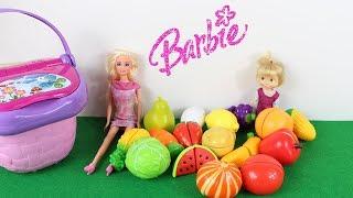 Barbie ile Maşa Pazara Gidiyorlar Maşa Pazara Gidelim Şarkısı Söylüyor Çocuk Şarkıları