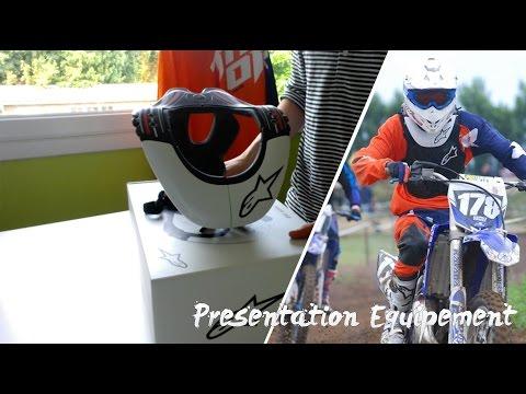 PRESENTATION EQUIPEMENT MOTOCROSS