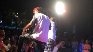 Kerwin Du Bois and Machel Montano - Possessed live at Circles