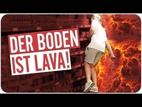 DER BODEN IST LAVA (Challenge)
