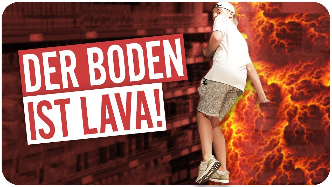 Der Boden Ist Lava Challenge Youtube