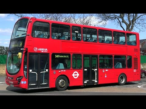 London Buses - Arriva in North London - Wright Gemini Double Deckers