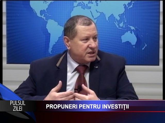 PULSUL ZILEI: PROPUNERI PENTRU INVESTIȚII Invitat: NECULAI ENEA- PRESEDINTE ALDE PASCANI