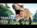 JURASSIC WORLD EVOLUTION Official Trailer (2018) Dinosaur Video Game HD