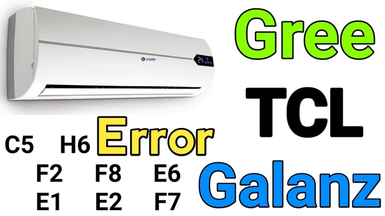 air conditioner gree tcl galanz errors h6 c5 f1 f2 e1 e2 e6 motorola air conditioner galanz air conditioner wiring diagram [ 1280 x 720 Pixel ]