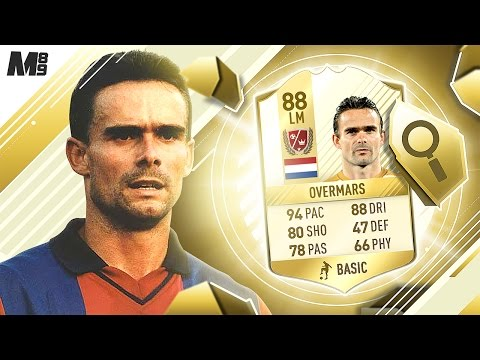 FIFA 17 OVERMARS REVIEW | LEGEND OVERMARS | FIFA 17 ULTIMATE TEAM PLAYER REVIEW