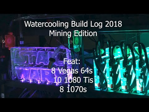 $30,000 Of Overkill Liquid Cooled PCs And (mainly) Mining Rigs - Watercooling Build Log #1