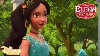 Władanie berłem według Zuzo - komenda świeć! | Elena z Avaloru | Tylko w Disney Channel!