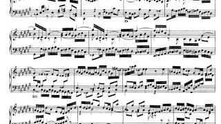 J.S. Bach. El clave bien temperado I. Fuga 3 en do # mayor. Partitura on line.