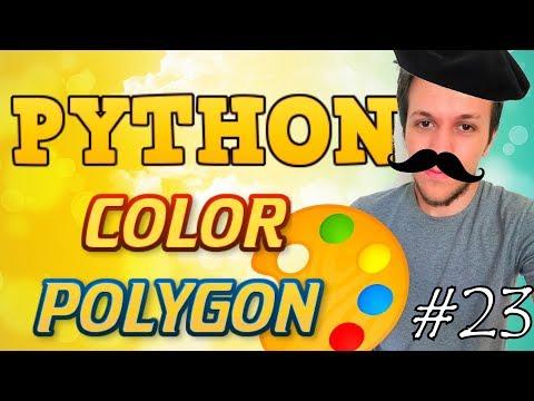 Python tutorial 2019 #23 COLOR POLYGON thumbnail