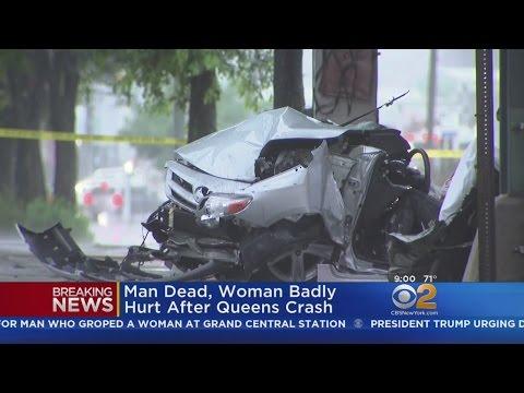 Man Killed, Teen Hurt In Queens Crash