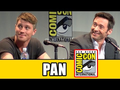 Pan Comic Con Panel - Hugh Jackman, Garrett Hedlund, Levi Miller, Joe Wright