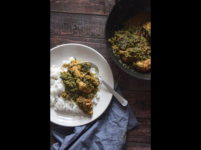 Lai Xaak Mangso | Chicken With Mustard Greens | Assamese Recipes | | Slurrp