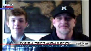 WATCH: Teacher Accused of Bullying Middle School Student About Trump, Fox News