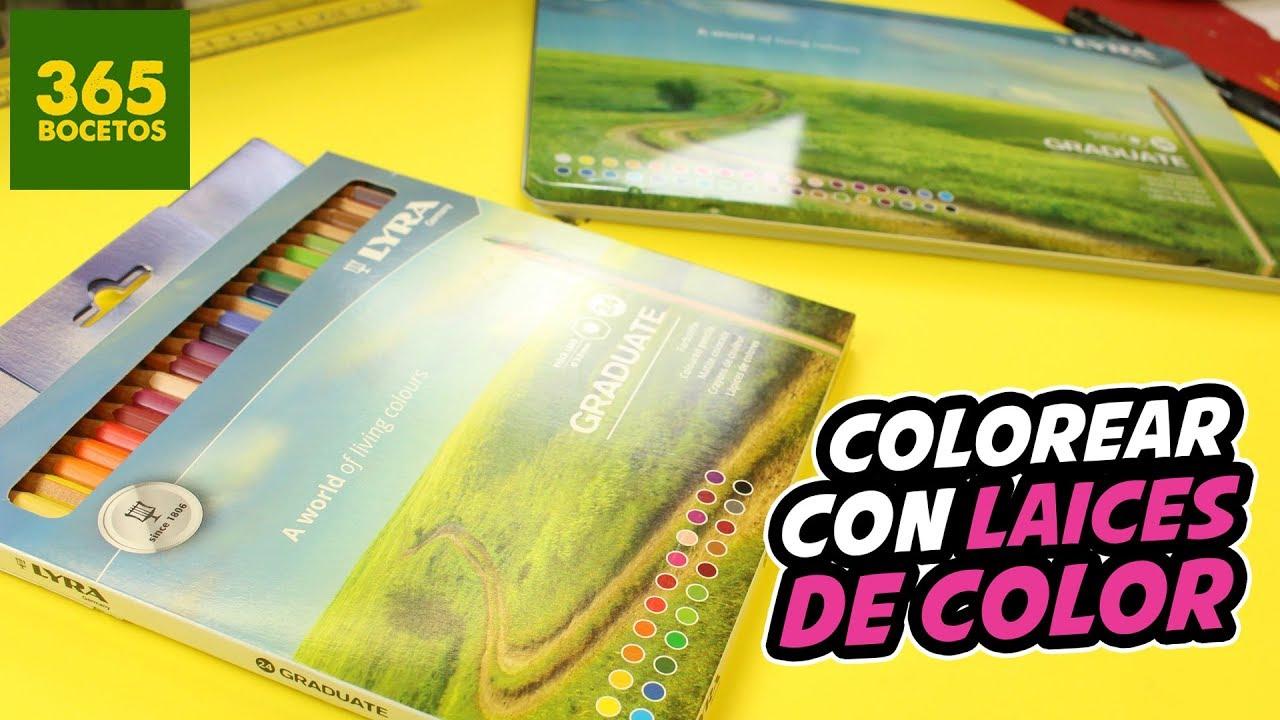 COMO COLOREAR CON LAPICES DE COLORES - tips para pintar con colores ...