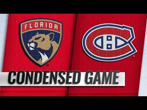 09/19/18 Condensed Game: Panthers @ Canadiens