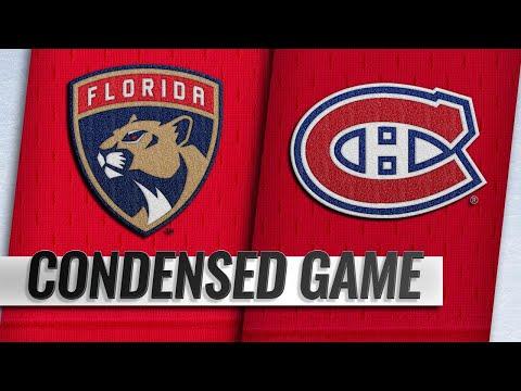 09/19/18 Condensed Game: Panthers @ Canadiens