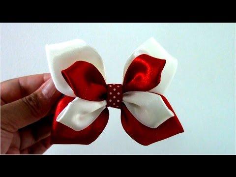 Mo os mariposa de dos colores en cintas para el cabello - Sofas de dos colores ...