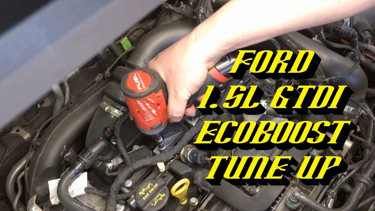 1.5 L Ecoboost >> 2014 2018 Ford 1 5l Gtdi Ecoboost Engine Spark Plug Replacement