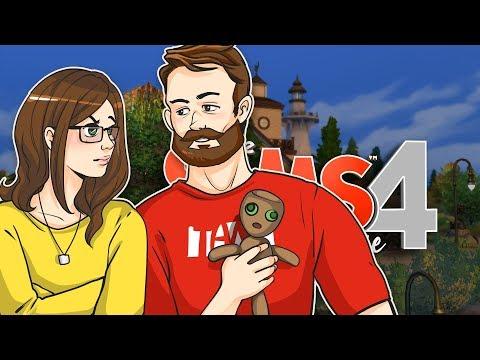 Franz sticht mich die ganze Zeit :C #057  👨👩👧 Die Sims 4 mit Isa & Franz