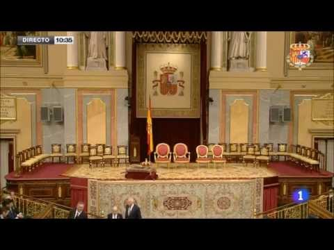 The Proclamation Ceremony of King Felipe VI 2014