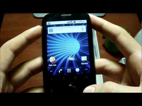 Unboxing Huawei Ideos C8150