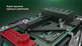 Metabo - LiHD: Yüksek performans kablo gerektirmez.