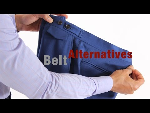 The Best Alternatives To Wearing A Belt