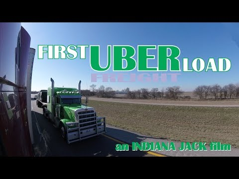 Indiana Jack's First Uber Load