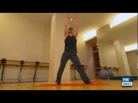 Workout with Pure Yoga