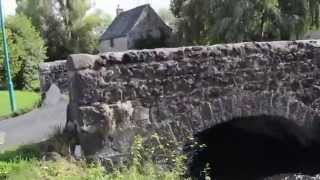 Vieux pont sur la Sioule à Saint-Bonnet-prés-Orcival