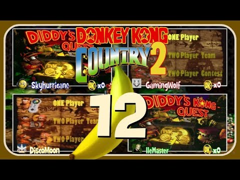 Let's Race (VS) DKC2: Diddy's Kong Quest Part 12: The Lost Recording