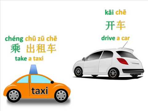 Transportation Chinese 101