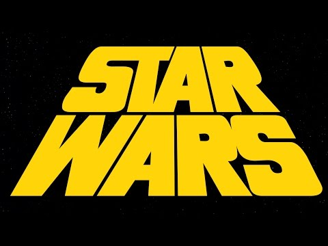 Star Wars (1977) opening crawl concept with alternate logo (read desc. for more)