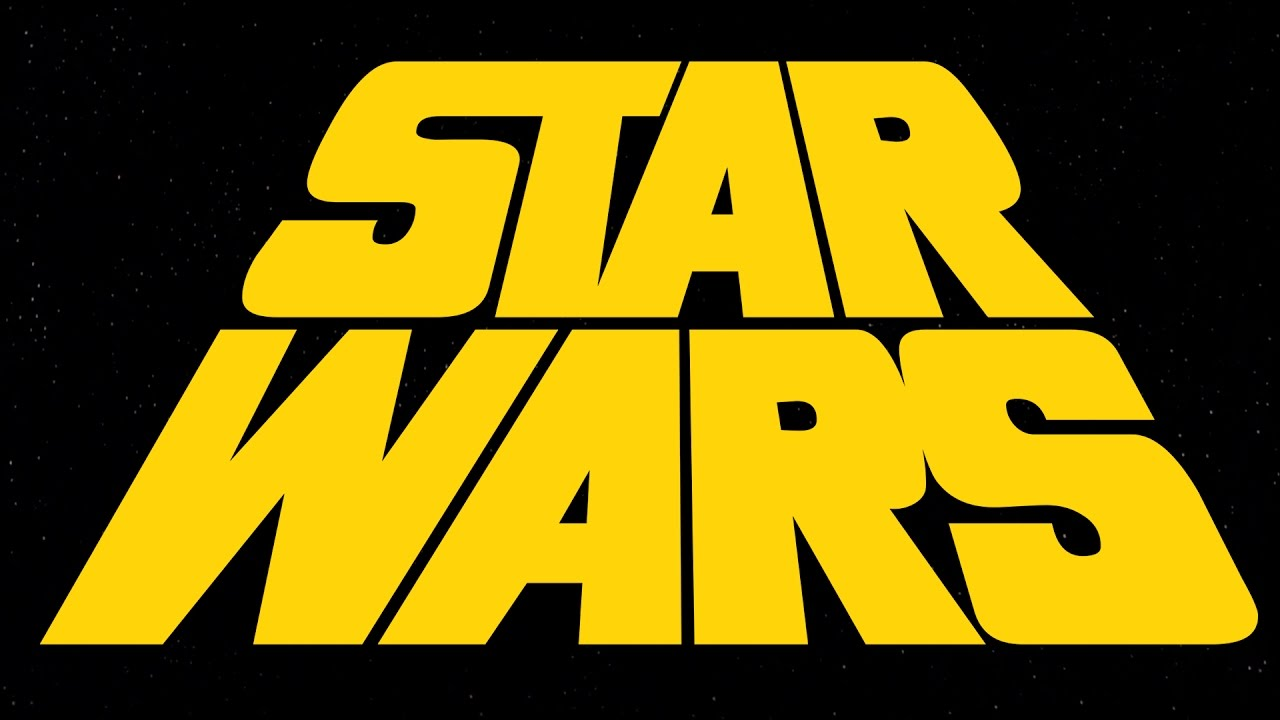 star wars 1977 opening crawl concept with alternate logo read
