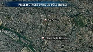 Prise d'otages dans un Pôle Emploi à Paris