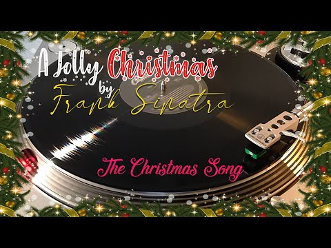 A Jolly Christmas From Frank Sinatra - The Christmas Song - (1957) Black Vinyl LP