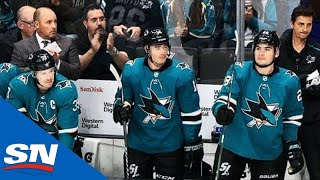 Sharks' Patrick Marleau Gets Standing Ovation In Return To San Jose