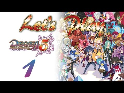 Let's Play Disgaea 5 - 1: Of course there are tutorials