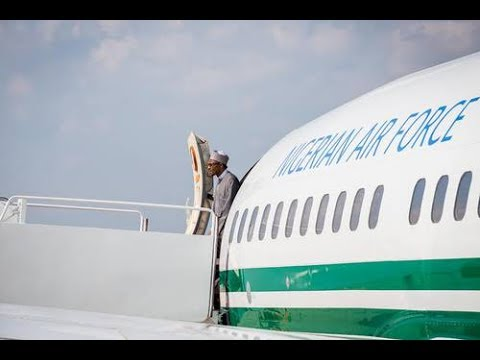 Why Nigeria's Presidential Jet Is Parked In London - Presidency