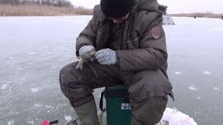Зимняя рыбалка после оттепели 2019 20 Ловля карася