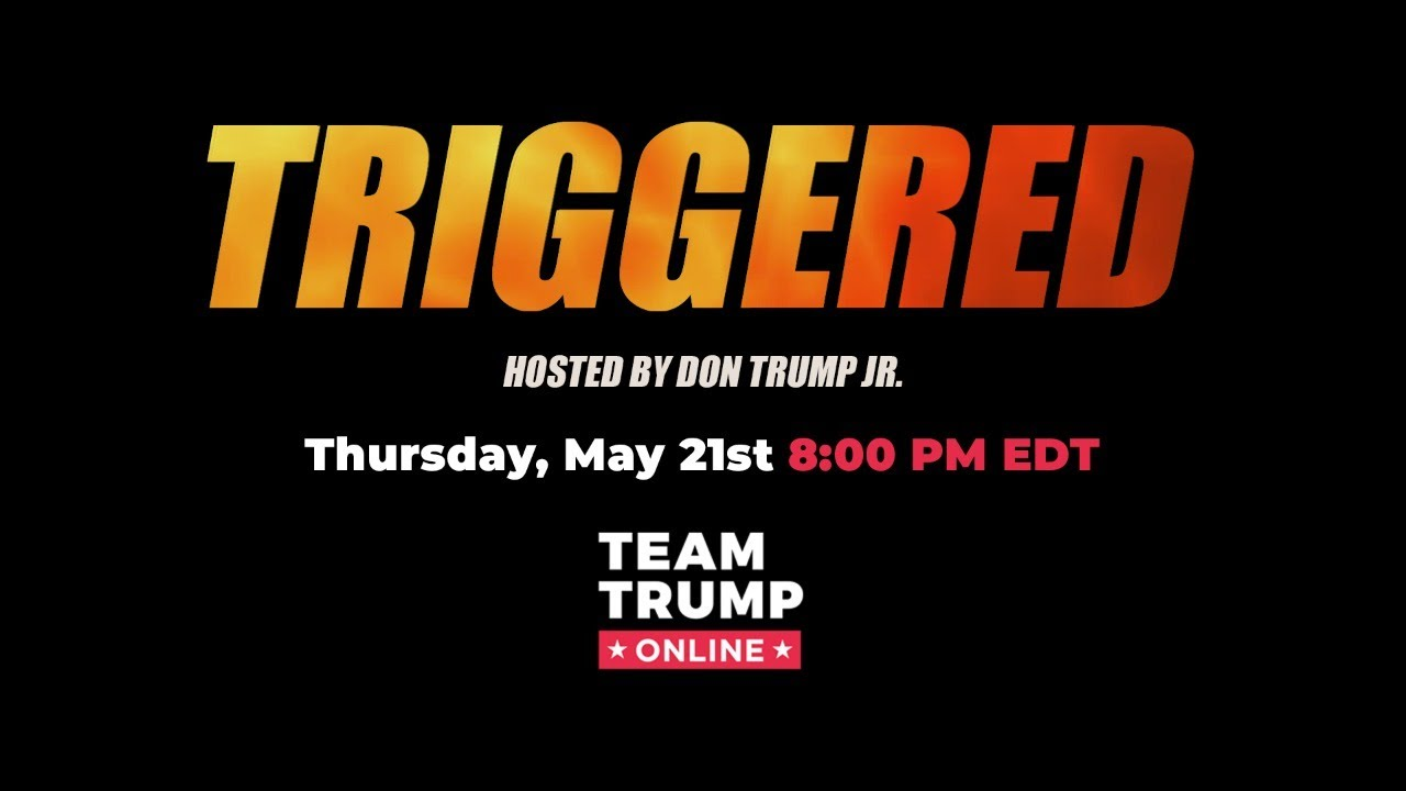 WATCH: Triggered hosted by Donald Trump Jr with special guest Ted Nugent! #Triggered