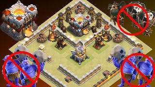 Th11 War Base 2018 Anti 1 Star/Anti 2 Star With Replay Anti Bowler Anti Lavaloon