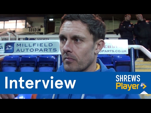 INTERVIEW | Paul Hurst post Peterborough United (A) - Town TV