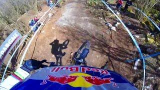 Rachel Atherton's Winning Mountain Bike GoPro Run from Lourdes